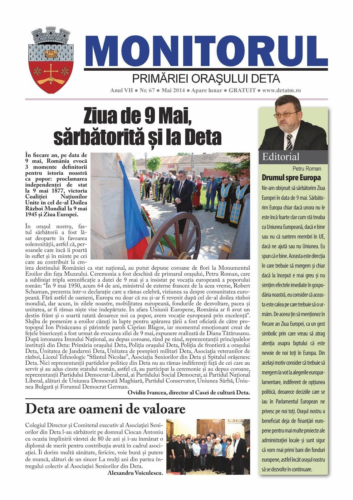 Monitorul - mai 2014