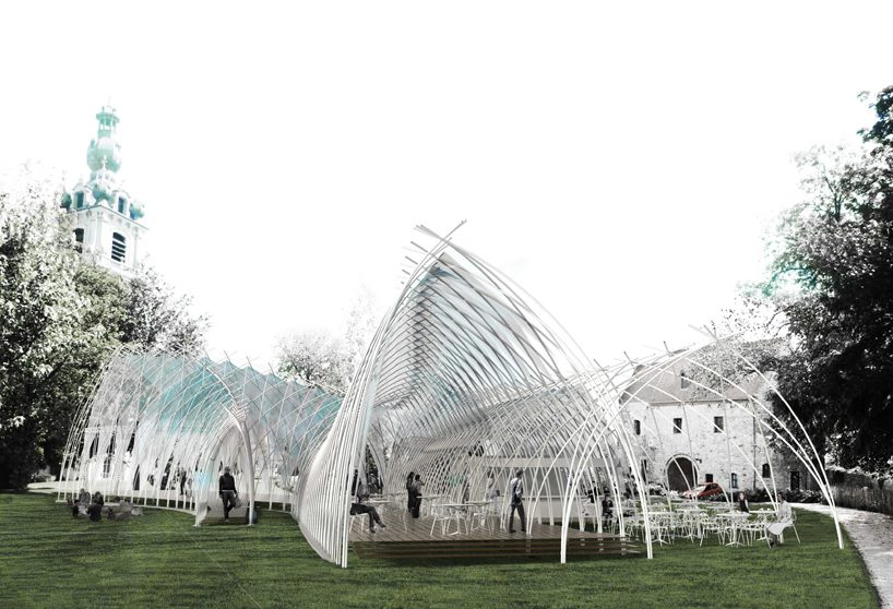 World of Architecture: Pavilion Design by Edouard Cabay And APPAREIL