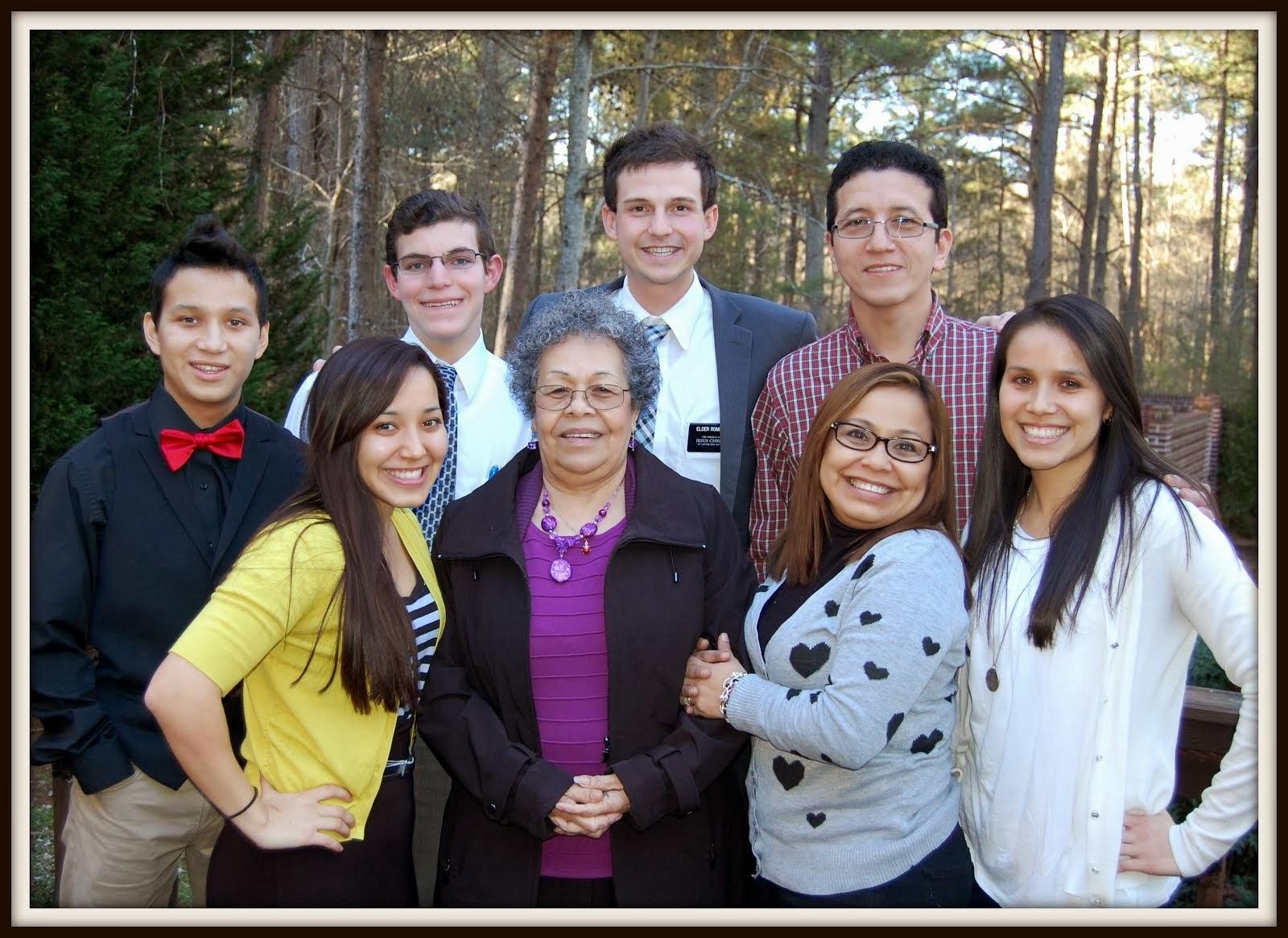 Elder Romero and Elder Rose