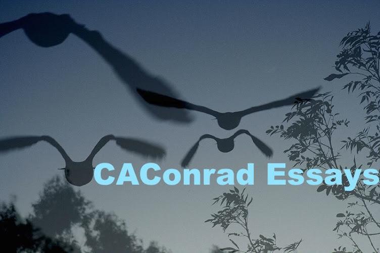 CAConrad Essays