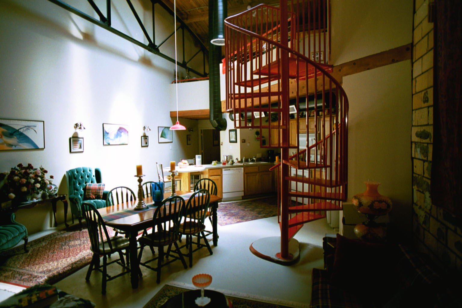 Beautiful abodes urban lofts Loft or studio apartment