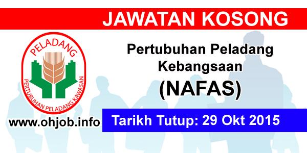 Jawatan Kerja Kosong Pertubuhan Peladang Kebangsaan (Nafas) logo www.ohjob.info oktober 2015
