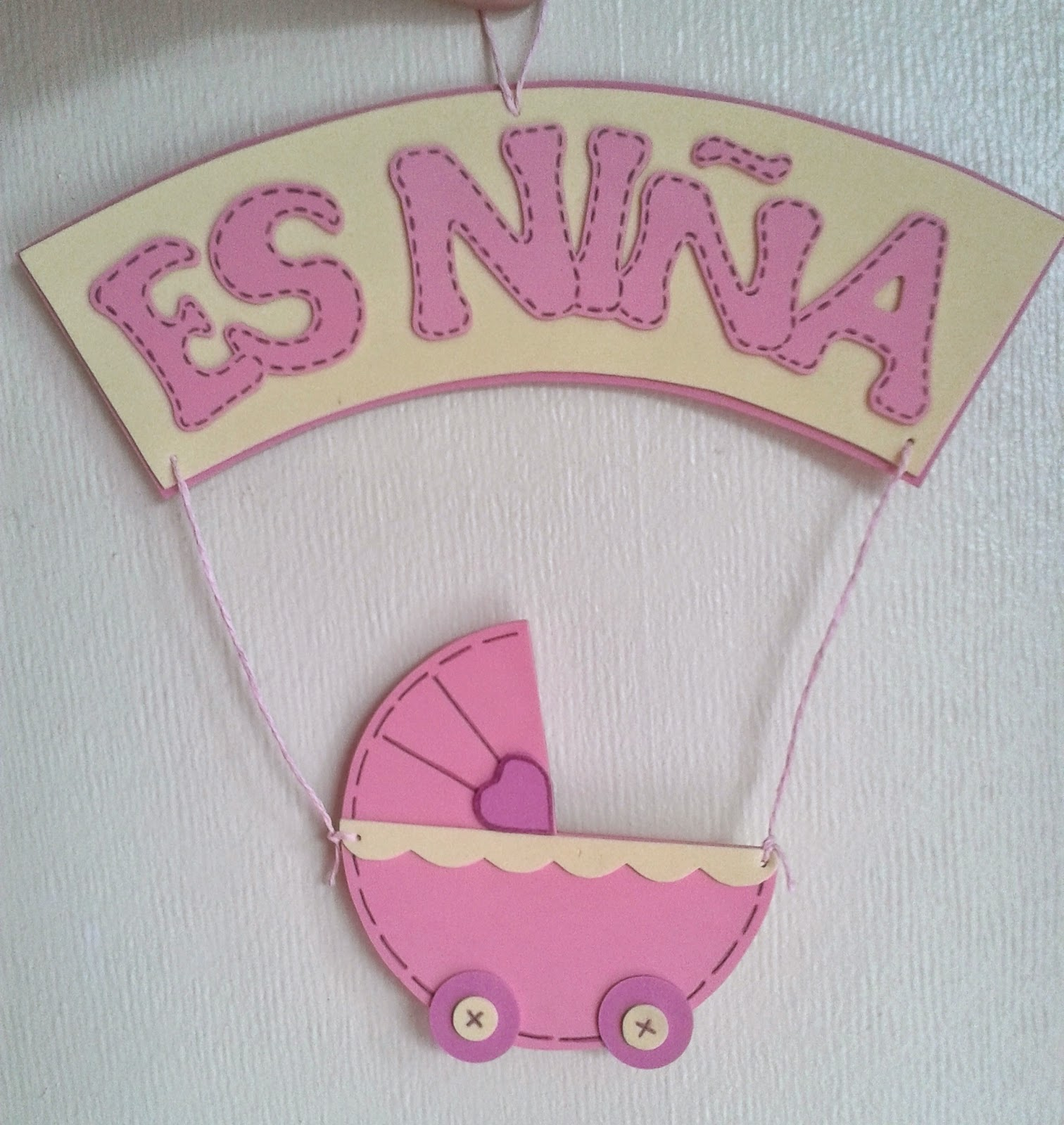 Giftparty decoraci n baby shower for Decoracion para pared de baby shower