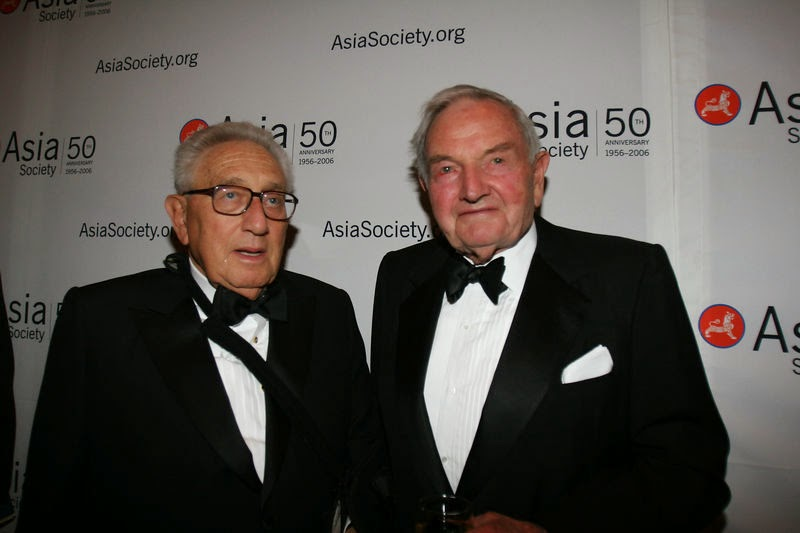 guerre -  Les crimes de guerre d'Henry Kissinger Henry-kissinger-e-david-rockefeller