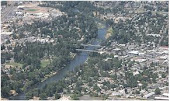 Grants Pass from the air