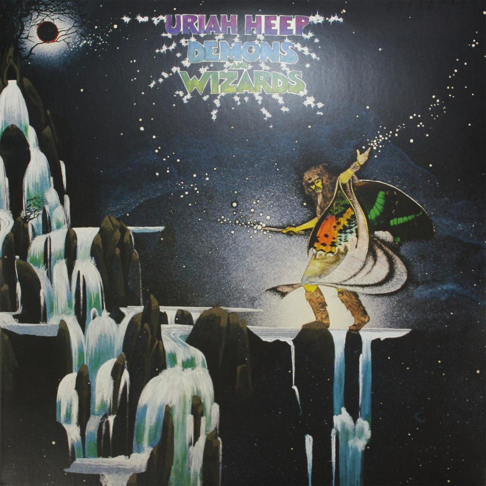 Uriah Heep - Demons and Wizards album cover
