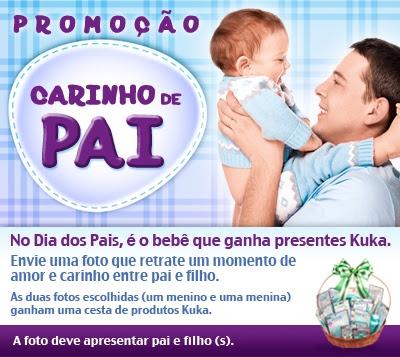 Concurso Cultural Carinho de Pai.