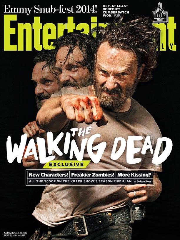 Portada de EW dedicada a Rick y la 5ª temporada de The Walking Dead