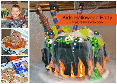halloween birthday party ideas with dry ice