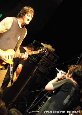 Joey Cape and Chris Flippin from Lagwagon in Paris June 2012 Rock'n'Live