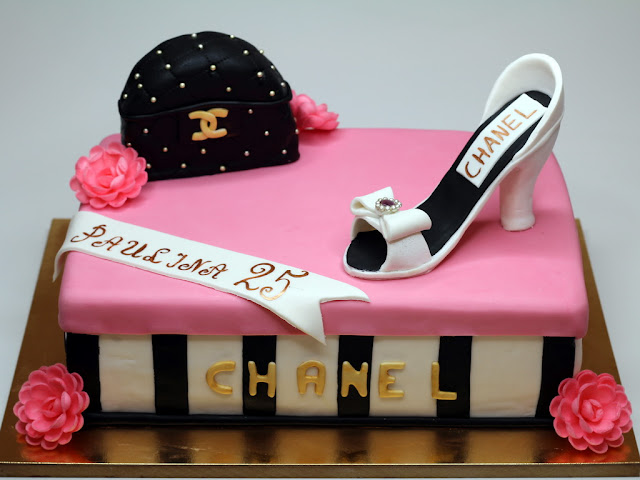 Birthday Cake in Chanel Style, London