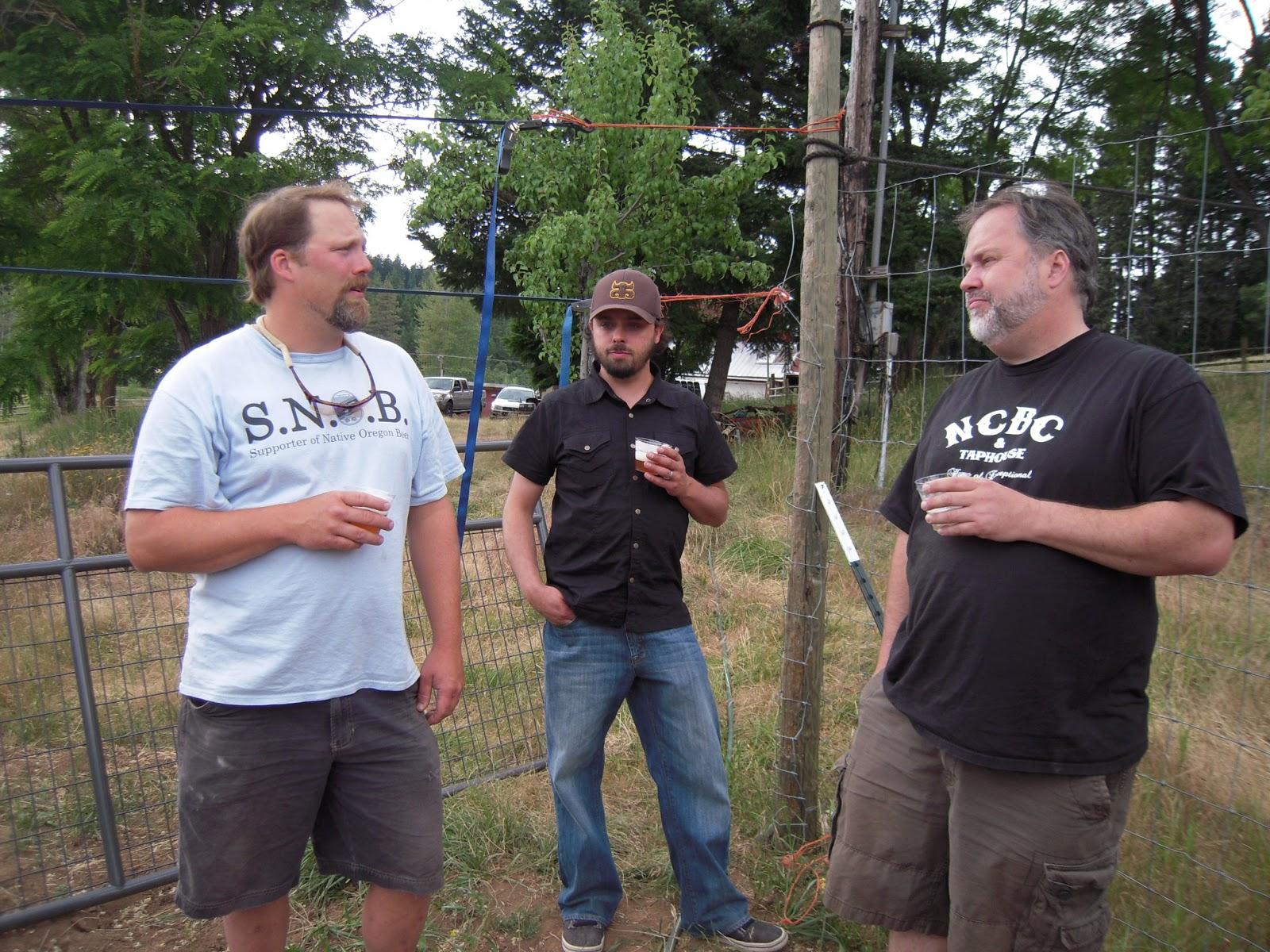 Logsdon Farmhouse Ales Chuck Porter launches Bergschrund Signature Serie