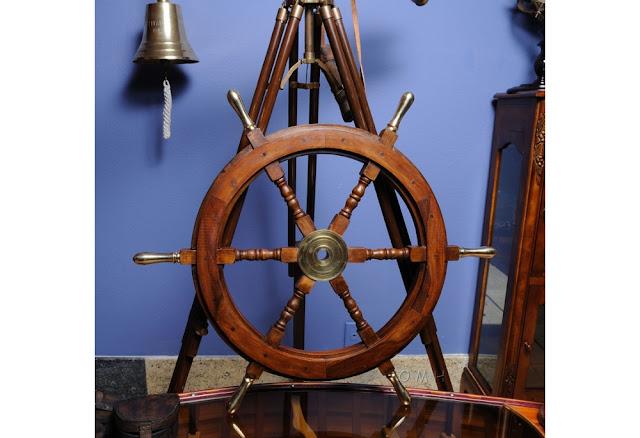 Ship Wheel Decoration