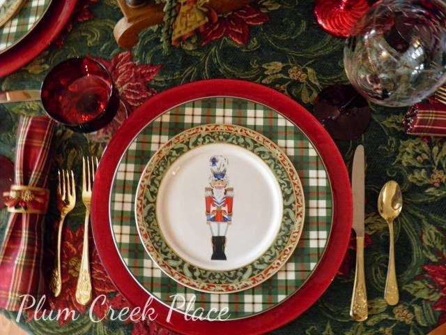 nutcracker tablescape