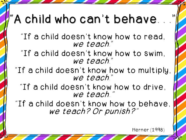 Classroom Punishment Ideas ~ Quotes for preschool classroom quotesgram