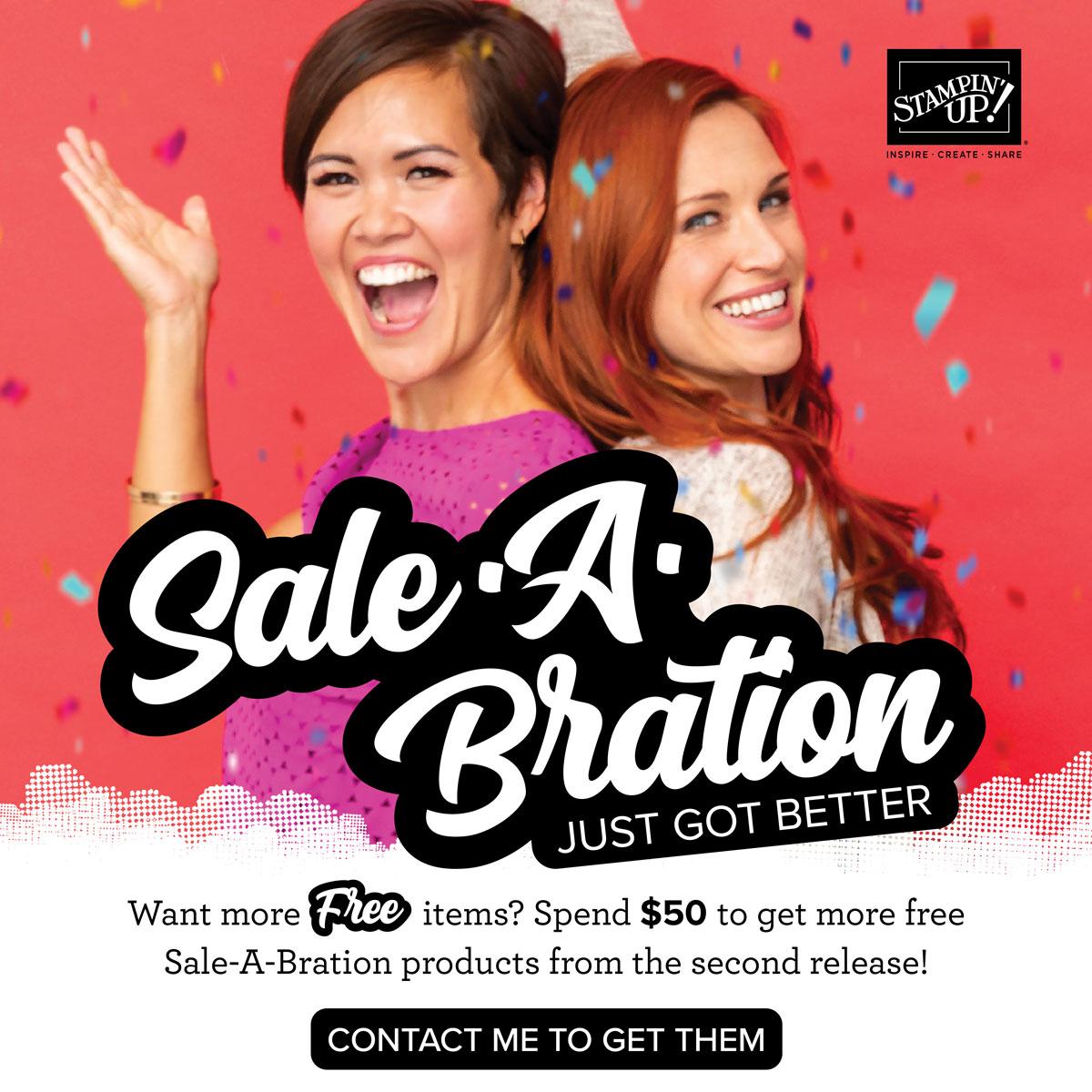 2020 Sale-A-Bration 2nd Release