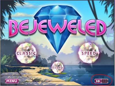 Приложение Bejeweled для Google Chrome