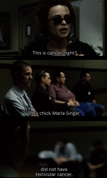 Fight Club Marla Quotes Labels: fight club (1999) | 421 x 699 png 394kB
