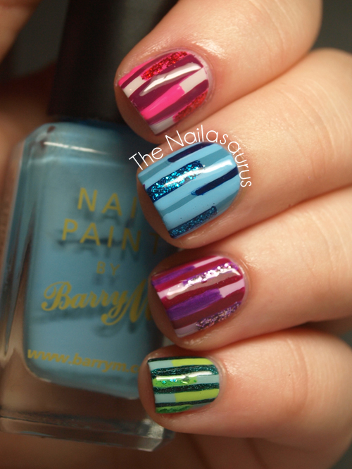 One Line Nail Art : I like your lines the nailasaurus uk nail art