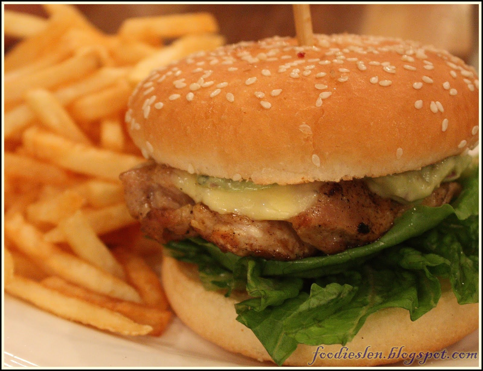 avocado chicken burger rm16 50 grilled chicken burger with house made ...