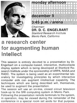 conférence Douglas Engelbart | mother of all demo