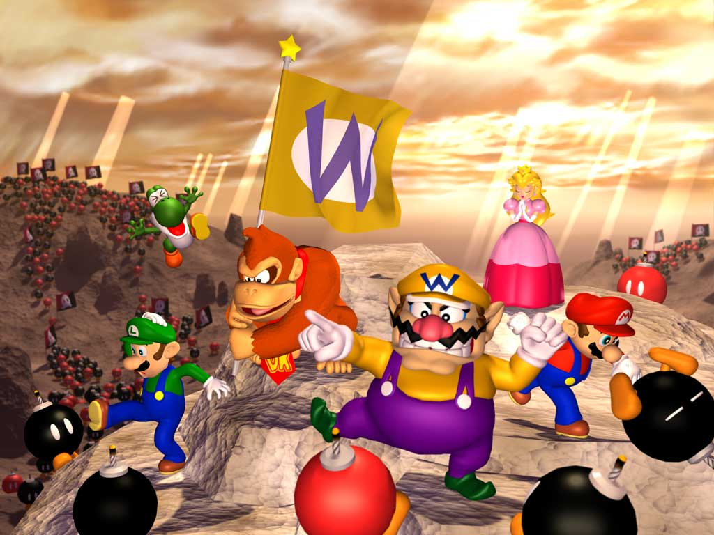 Addicted in Games Mario Party Nintendo 64 1998 1999