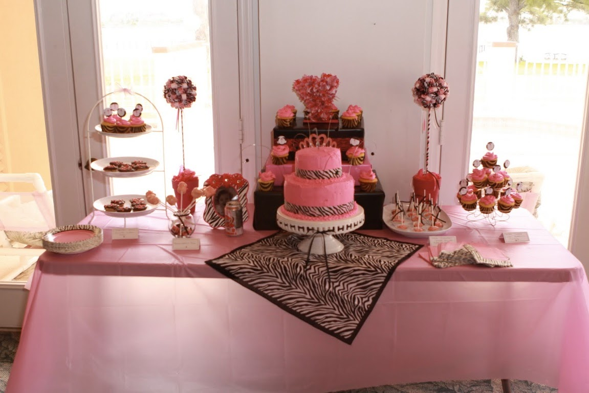 A Stylish Affair by Jessie Pink Zebra Themed First Birthday Party
