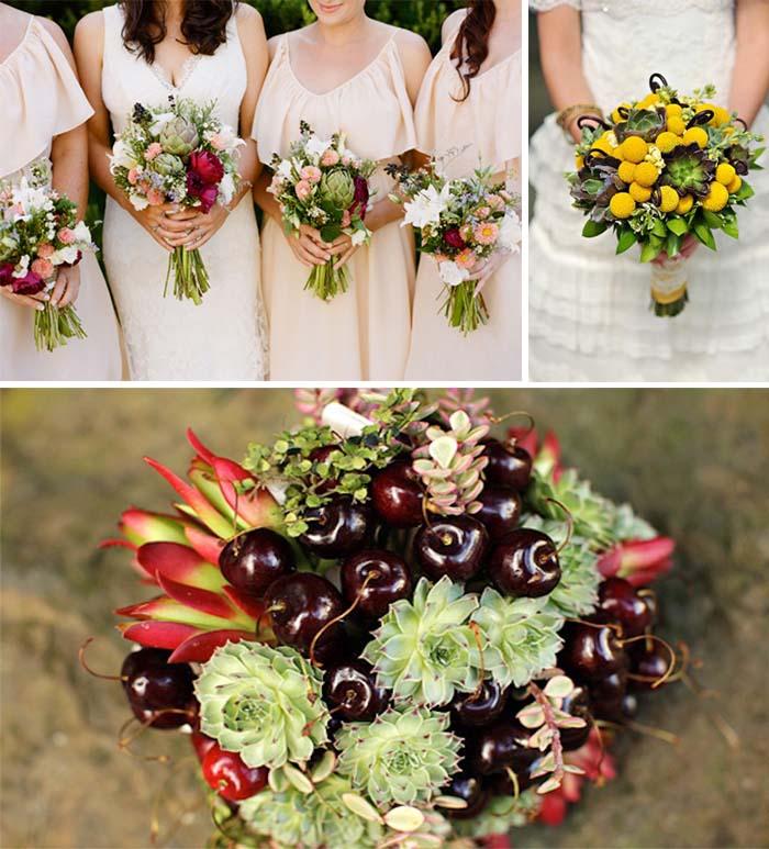 Beautiful Wedding Flowers: Make Fruit Wedding Bouquets for Your Wedding