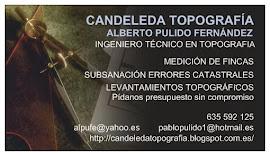 CANDELEDA TOPOGRAFIA