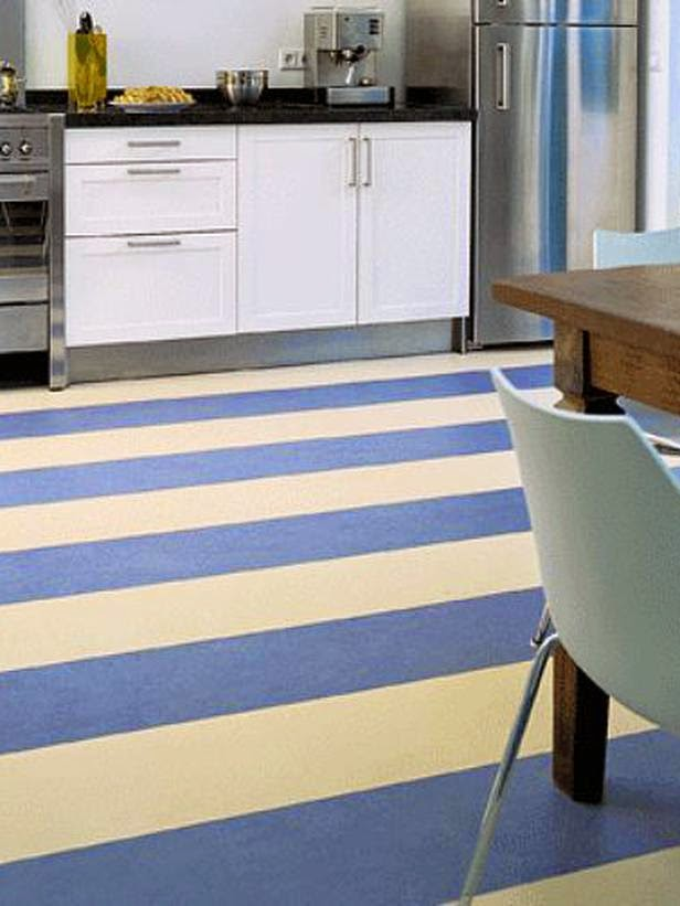 marmoleum flooring idea
