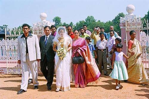 A Catholic Wedding down South