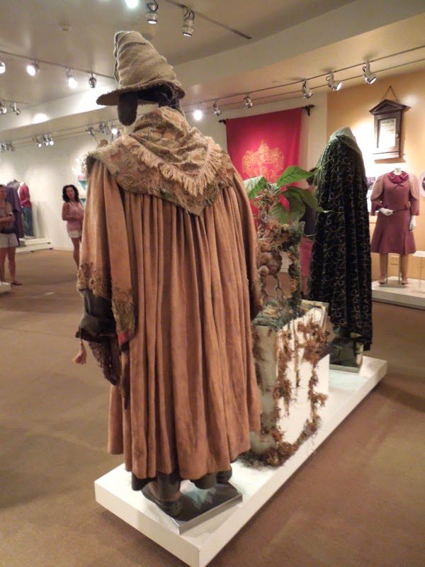 Professor Sprout costume back Harry Potter Chamber of Secrets