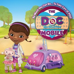 "Disney Junior Series ""Doc McStuffins"" inspires interactive health-focused ""Doc Mobile"" tour is on the road now"