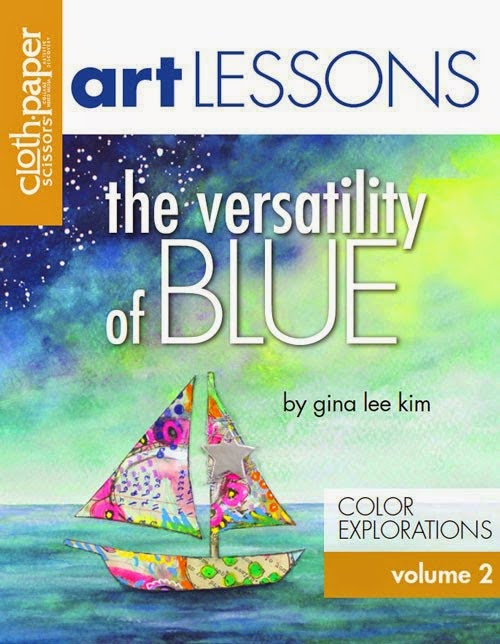 2015 February Art Lesson - Volume 2 BLUE AVAILABLE NOW