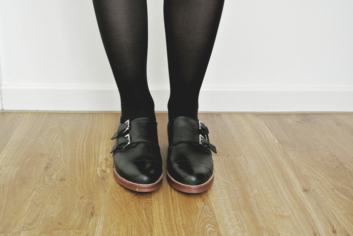 Office monk shoes