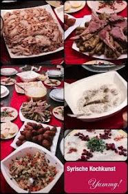 Syrische Kochkunst auf FB