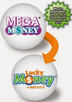fl lucky money lottery odds