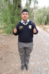 Our sponsored child, Erik