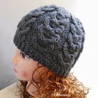 Knitting pattern beanie hat