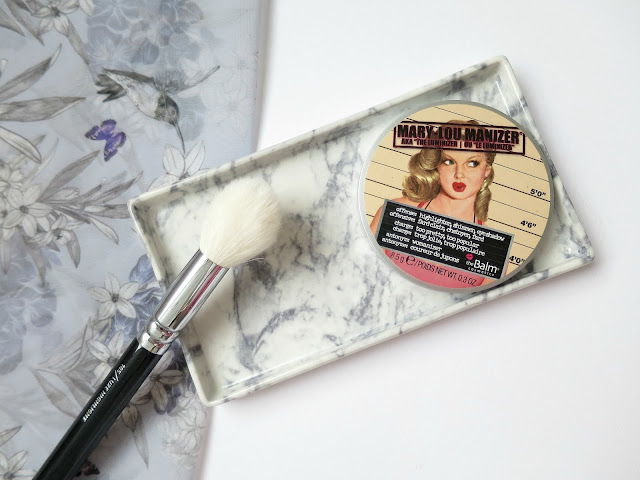 Perfect Brush and Beauty Matches Zoeva The Balm Highlightter Mary loumanizer
