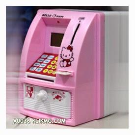 Celengan ATM Mini - Kode Barang : A0036 | Membiasakan kebiasan menabung pada Anak sejak usia dini
