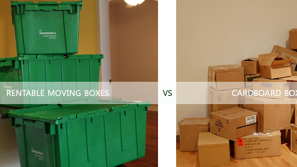 Moishe's Moving Systems - Green Moving Boxes