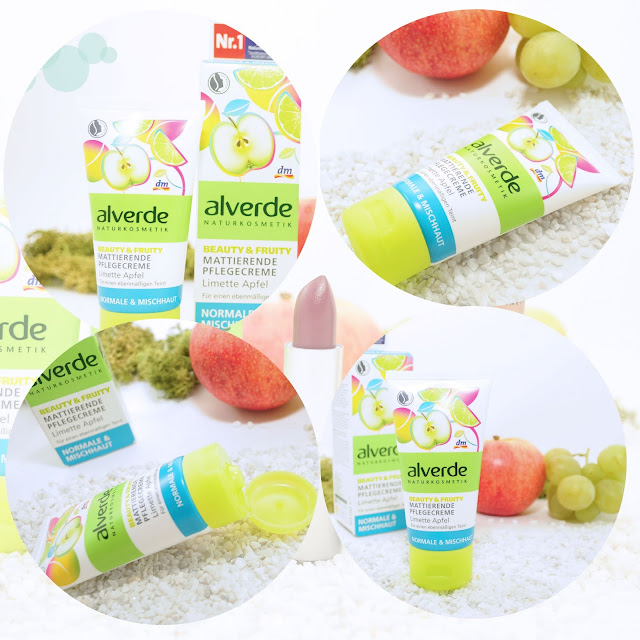 Tagescreme von Alverde limette Apfel