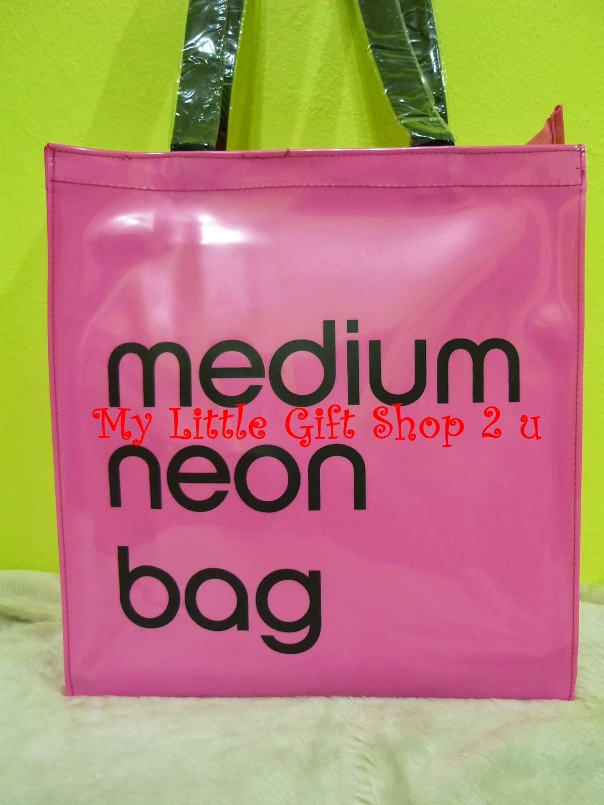 Medium Neon Bag Medium Neon Bag Pink