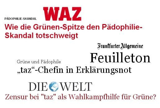 taz, Christian Füller, Ines Pohl, Grüne, Pädophilie-Skandal