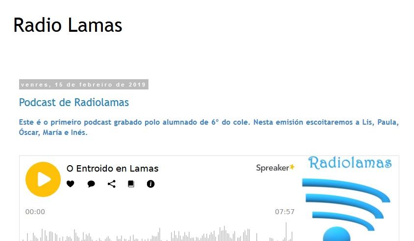 BLOG DE RADIO LAMAS