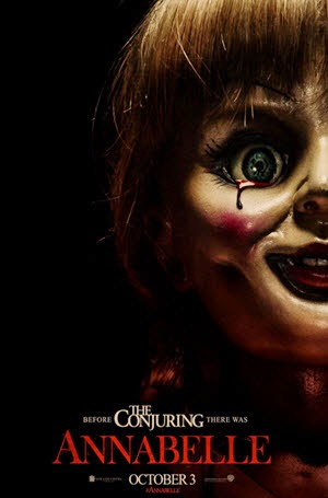 Annabelle: Official Theatrical Release Poster