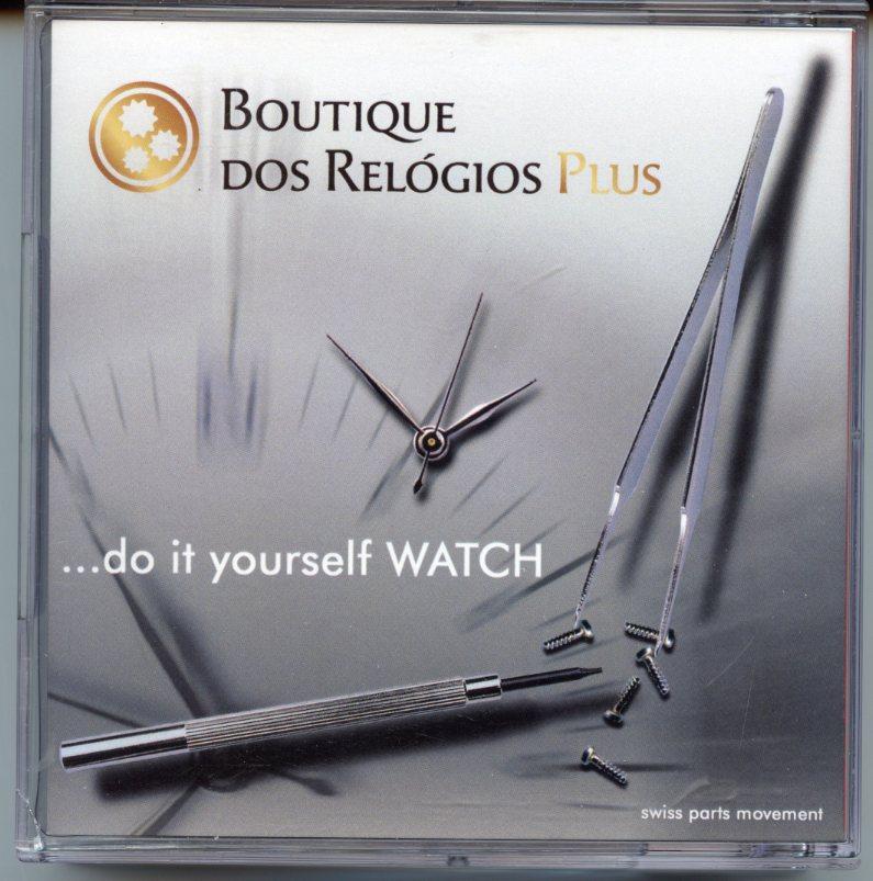 Estao cronogrfica memorabilia kit do it yourself watch memorabilia kit do it yourself watch boutique dos relgios plus solutioingenieria Gallery