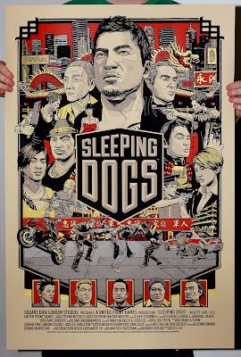 Постер к игре Слипинг Догс