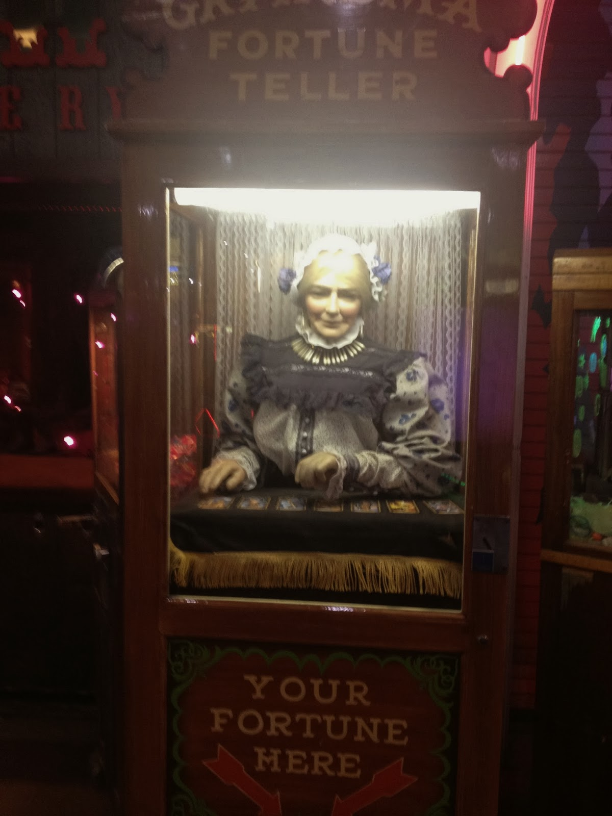 Facial fortune telling features